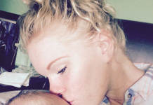 Aoife with Baby