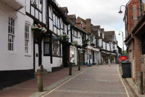 East Grinstead High Street, Credit Peter Trimming