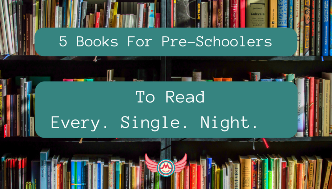 5 books to read to pre-schoolers