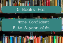 5 books 5-8yo more confident