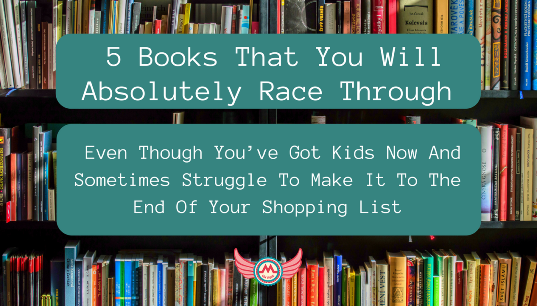 5 books race through