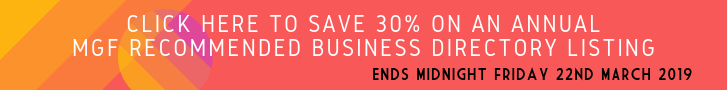 30% off the MGF Recommended Business Directory