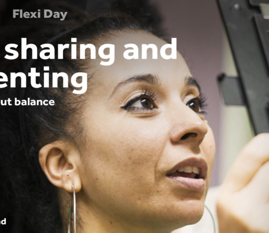 Job-sharing and parenting: it's not about balance