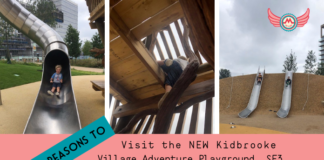 7 Reasons to Visit the New Kidbrooke Village Adventure Playground