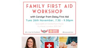FB event first aid workshop