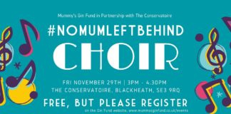#nomumleftbehind choir FB event