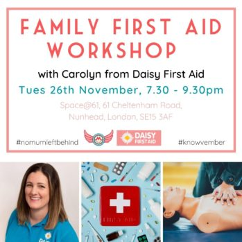 square first aid workshop