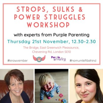 square purple parenting workshop