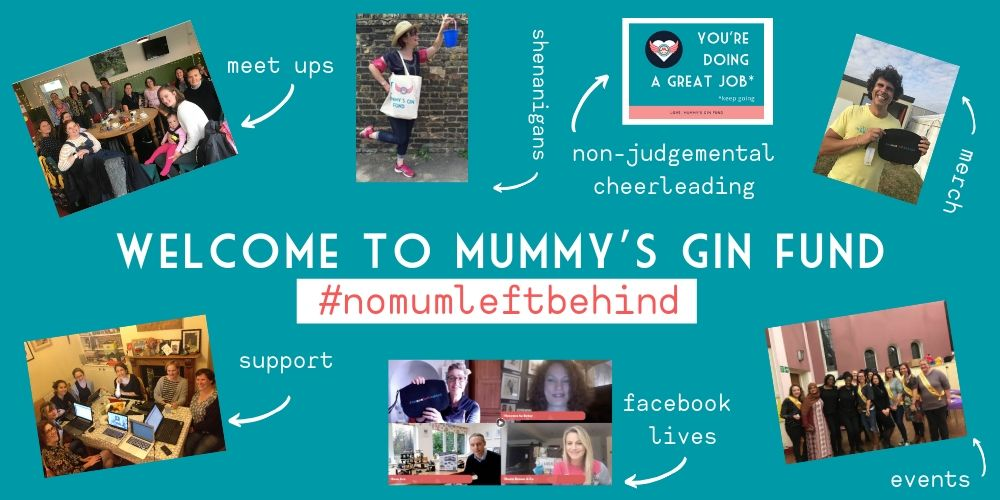 Mummys Gin Fund Facebook page